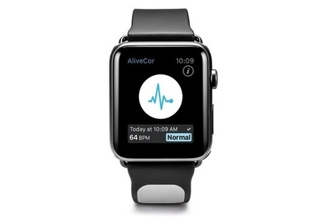 AliveCor's standalone Apple Watch heart monitor is serious about health, not fitness | Digital Health | Scoop.it