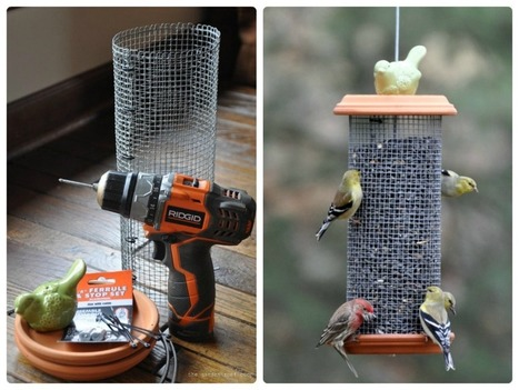 DIY Sunflower Tower Bird-Feeder | Garden and Outdoor Australia 2 | Scoop.it