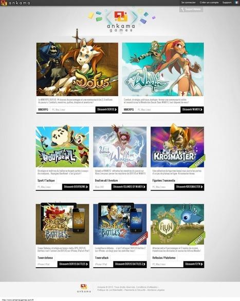 Le site Ankama Games fait peau neuve. | Roi Boo News | Scoop.it