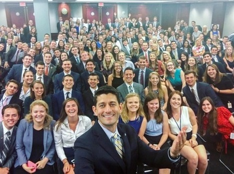 Where's the Diversity? Paul Ryan's Photo with Interns Called 'World's Whitest Selfie' | Community Village Daily | Scoop.it