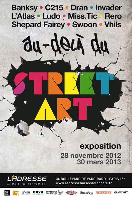 Au delà du street art – expo | Rap , RNB , culture urbaine et buzz | Scoop.it