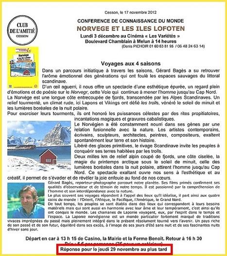 Connaissances du Monde : Norvège & Îles Lofoten - Club de l' Amitié | gestion des K | Scoop.it