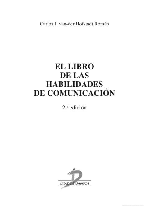 El libro de las habilidades de comunicación | Educacion, ecologia y TIC | Scoop.it