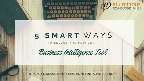 5 Smart ways to select the perfect Business Intelligence tool.   PHP development Company   Scoop.it