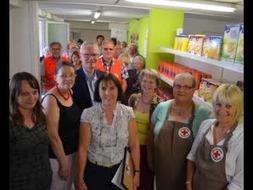 Dinan. Un projet pilote d'épicerie sociale inauguré à la Ville-Goudelin - Le Télégramme | Epicerie Sociale et Solidaire | Scoop.it