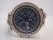 Men's Breitling Windrider Chronomat Diamond Watch| RSDWatches.com | Sell Gold | Scoop.it