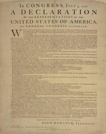 238 años de la Declaración de Independencia de Estados Unidos  — Cambio16 Diario Digital, periodismo de autor | Lo que viene siendo una documentalista | Scoop.it