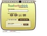 Read Write Think. Créer des grilles de mots croisés - Les Outils Tice | Les outils du Web 2.0 | Scoop.it