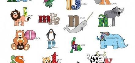 Completa colección de abecedarios para imprimir y colorear | desdeelpasillo | Scoop.it