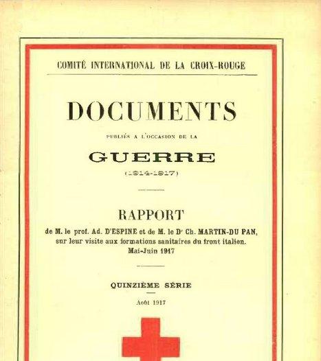 Formations sanitaires du front italien, mai-juin 1917 | Généal'italie | Scoop.it