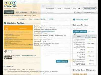 Achieve OER Evaluation Rubrics and Tool | Quality assurance of eLearning | Scoop.it