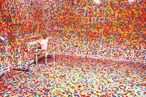 This is What Happens When You Give Thousands of Stickers to Thousands of Kids | Colossal | images in context | Scoop.it