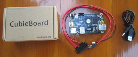 Cubieboard Unboxing and Quick Start Guide | Embedded Systems News | Scoop.it