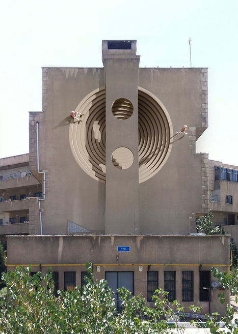 Iranian ARTIST Has Covered Over 100 Of Tehran's Walls In Surreal Street Art   Design et graphisme   Scoop.it