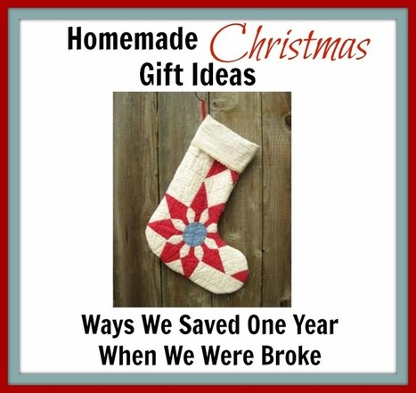 Homemade Christmas Gift Ideas (Ways We Saved One Year When ... | Holidays | Scoop.it
