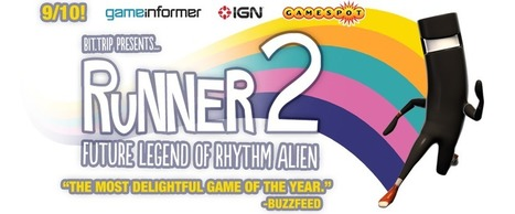 Runner 2 Dev Blog - Runner 2: Future Legend of Rhythm Alien | Depth and Parallax in games | Scoop.it