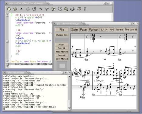 Los 20 mejores editores de partituras en www.musikawa.es | Música, tecnología y educación. | Scoop.it