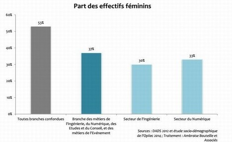 Dossier - La féminisation de l'informatique | Neovity - Externalisation de recrutement - Informatique | Scoop.it