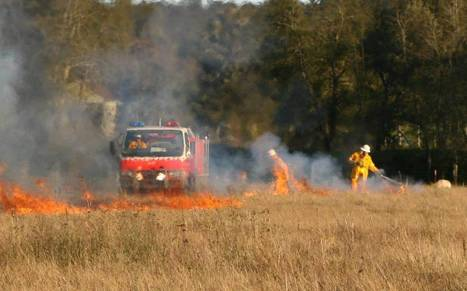 UPDATE: More than 40Ha burned in Long Creek and Kerrabee fires | Newcastle Herald | NPWS fire management | Scoop.it