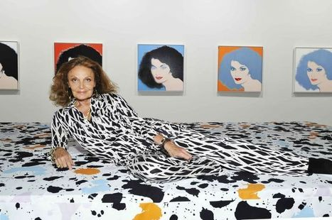 Diane von Furstenberg Writes Foreword to Bob Colacello's Andy Warhol Book. | Pinterest | Scoop.it
