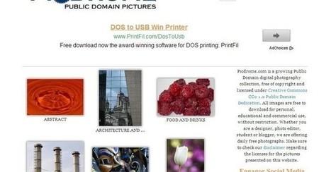 Picdrome, directorio y buscador de fotos de dominio público   Enlaces interesantes, útiles, de descargas...   Scoop.it