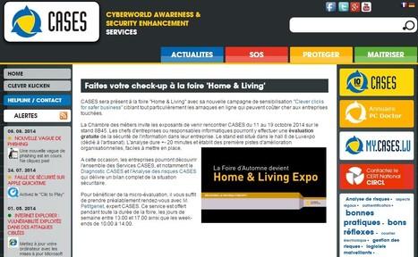 Faites votre check-up à la foire 'Home & Living' -  Cases | Cyber Security | Luxembourg | Luxembourg (Europe) | Scoop.it