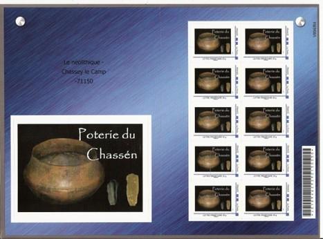 CHASSEY LE CAMP : Emission d'un timbre sur le Chasséen   World Neolithic   Scoop.it