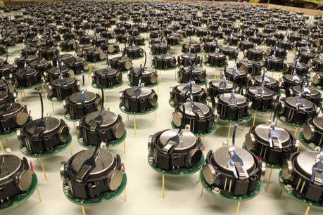 Watch a thousand robots execute the ultimate nerd choreography | Nowadays | Scoop.it