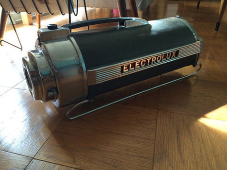 Vintage 1949 Electrolux Canister Vacuum Model xxx/30 | Antiques & Vintage Collectibles | Scoop.it