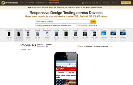 Prioritizing Devices: Testing And Responsive Web Design | Responsive design & mobile first | Scoop.it