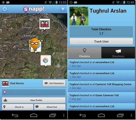 Find Friends In A Hotel Or Shopping Mall With Indoor Maps On Android, iPhone And iPad With Snapp | Android Guides | Scoop.it