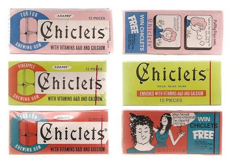 Chicklets with Vitamin D&A | A Cultural History of Advertising | Scoop.it