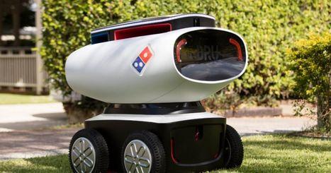 Domino's has built an autonomous pizza delivery robot | Think outside the Box | Scoop.it
