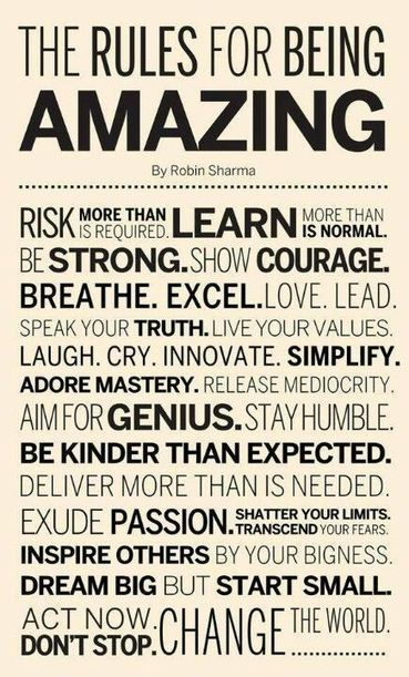 The Rules For Being Amazing | Prayer | Scoop.it