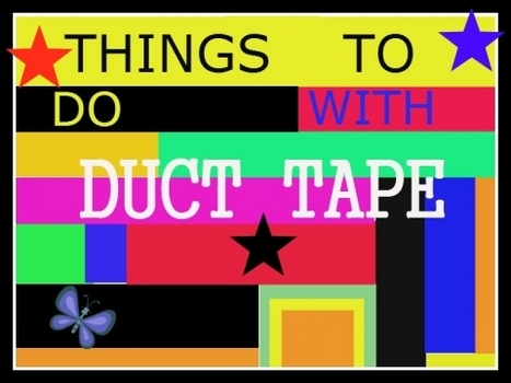 Things to make with duct tape!   Crafts & Arts   Scoop.it
