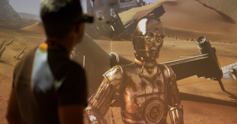 Augmented reality is conquering new frontiers with Star Wars | Transmedia: Storytelling for the Digital Age | Scoop.it