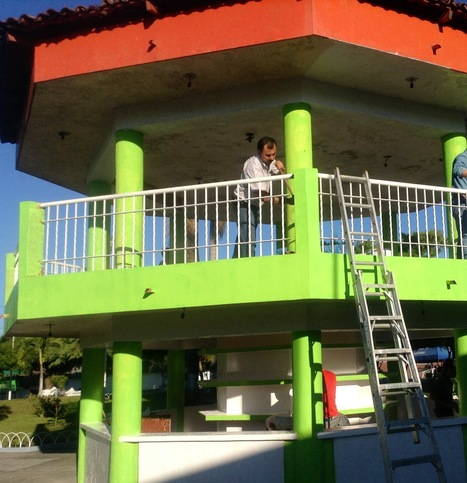 Rehabilita SEDUR jardín de Alcaraces | Noticias Colima | Scoop.it
