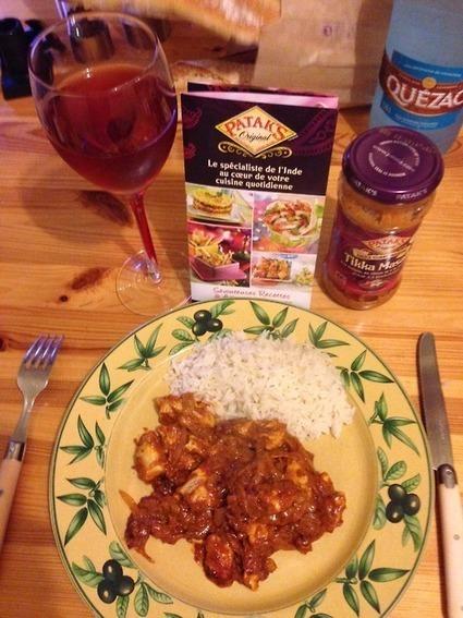 Curry Indien PATAK'S avec TesterTout • Avis sur PATAK'S envoyé par Tailandier Un repas... | TesterTout.com & startups | Scoop.it