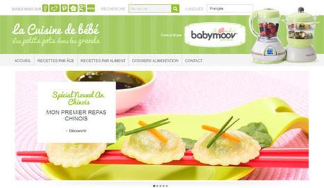 Recette bébé : 5 sites au banc d'essai - mamansactives.fr   Yooji BabyFood   Scoop.it