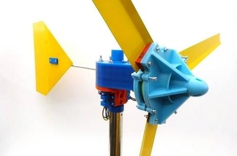 Fabriquer sa propre éolienne avec une imprimante 3D | CRAKKS | Scoop.it