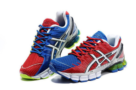 Mens Asics Gel Kinsei 4 Orange Red Blue Shoes | want and share | Scoop.it