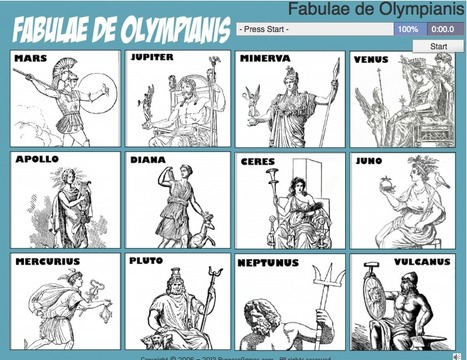 Fabulae de Olympianis | Latin.resources.useful | Scoop.it