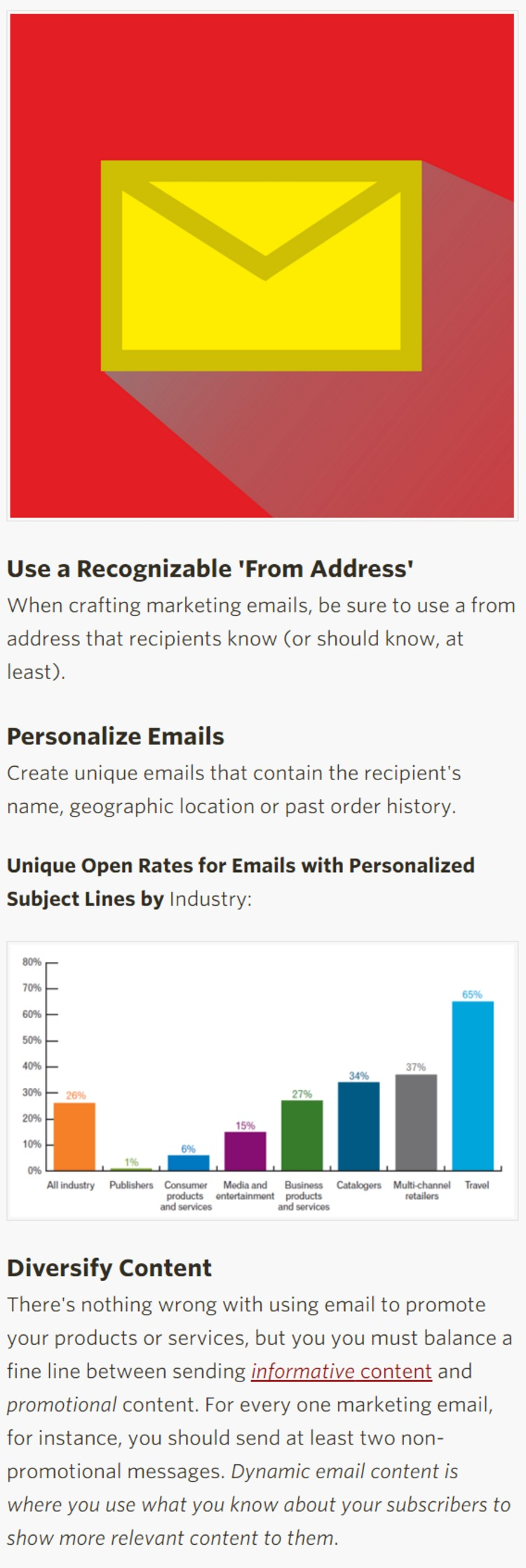 How to Improve Email Open Rates - Social Media Today | The Marketing Technology Alert | Scoop.it