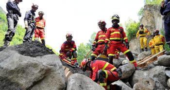 Saint-Lary-Soulan. Des secouristes de 37 pays de l'UE en action - La Dépêche | Vallée d'Aure - Pyrénées | Scoop.it