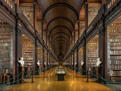 Check out 25 breathtaking libraries from all around the world. | All Things Bookish: All about books, all the time | Scoop.it