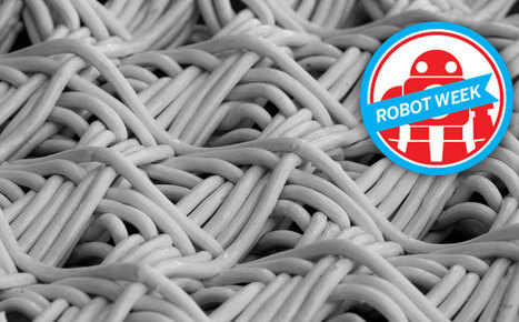 """Robotic Fabrication: A look at """"Fiber Syntax"""" and """"Woven Clay""""   Intriging in Textiles   Scoop.it"""