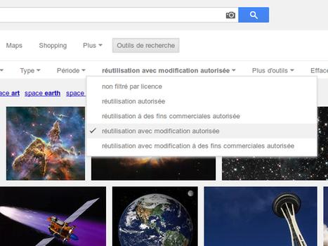 Google Images : le filtre par licences d'utilisation désormais mieux visible | Fredzone | Collection d'outils : Web 2.0, libres, gratuits et autres... | Scoop.it