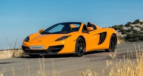 100 MP4-12C pour les 50 ans de McLaren   Luxury and Marketing   Scoop.it