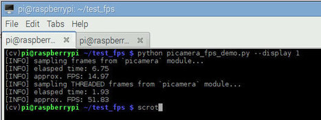 Increasing Raspberry Pi FPS with Python and OpenCV @Raspberry_Pi #piday #raspberrypi | Raspberry Pi | Scoop.it