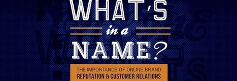 What's in a Name? The Importance of Online Brand Reputation & Customer Relations [VIDEO] | Business 2 Community | Integrated Brand Communications | Scoop.it